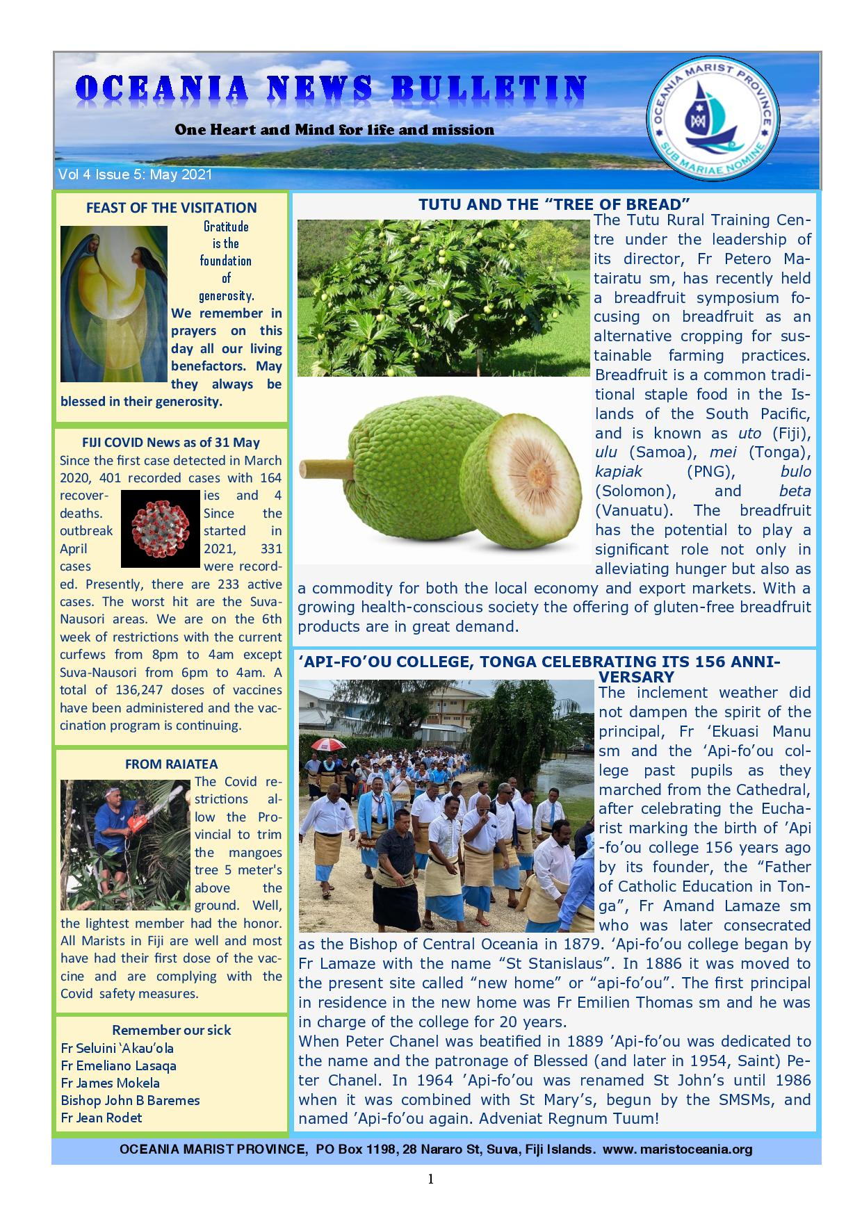 Oceania Bulletin Vol 4 Issue 5 May Eng page 001