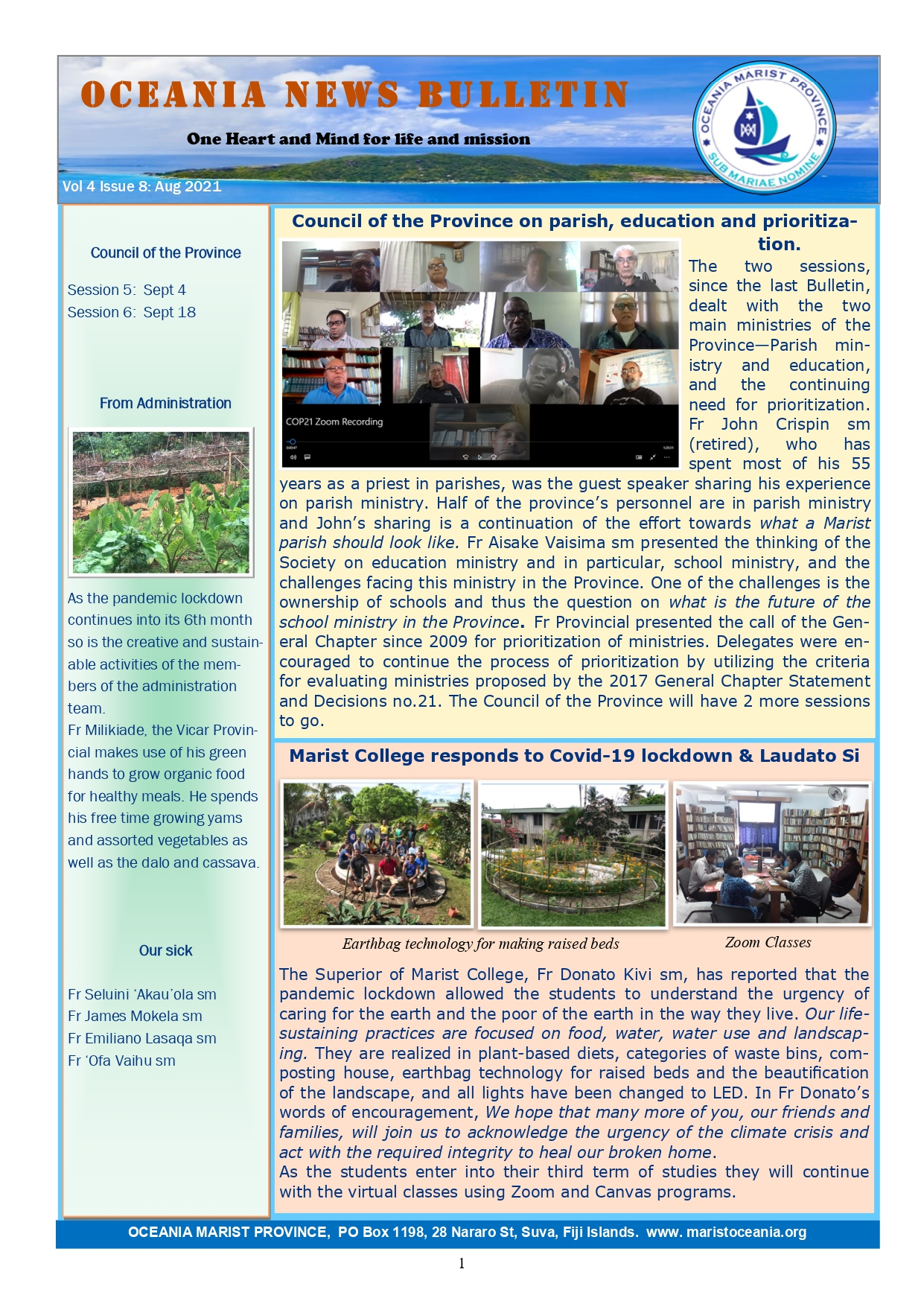 Oceania Bulletin Vol 4 Issue 8 Aug Eng page 0001