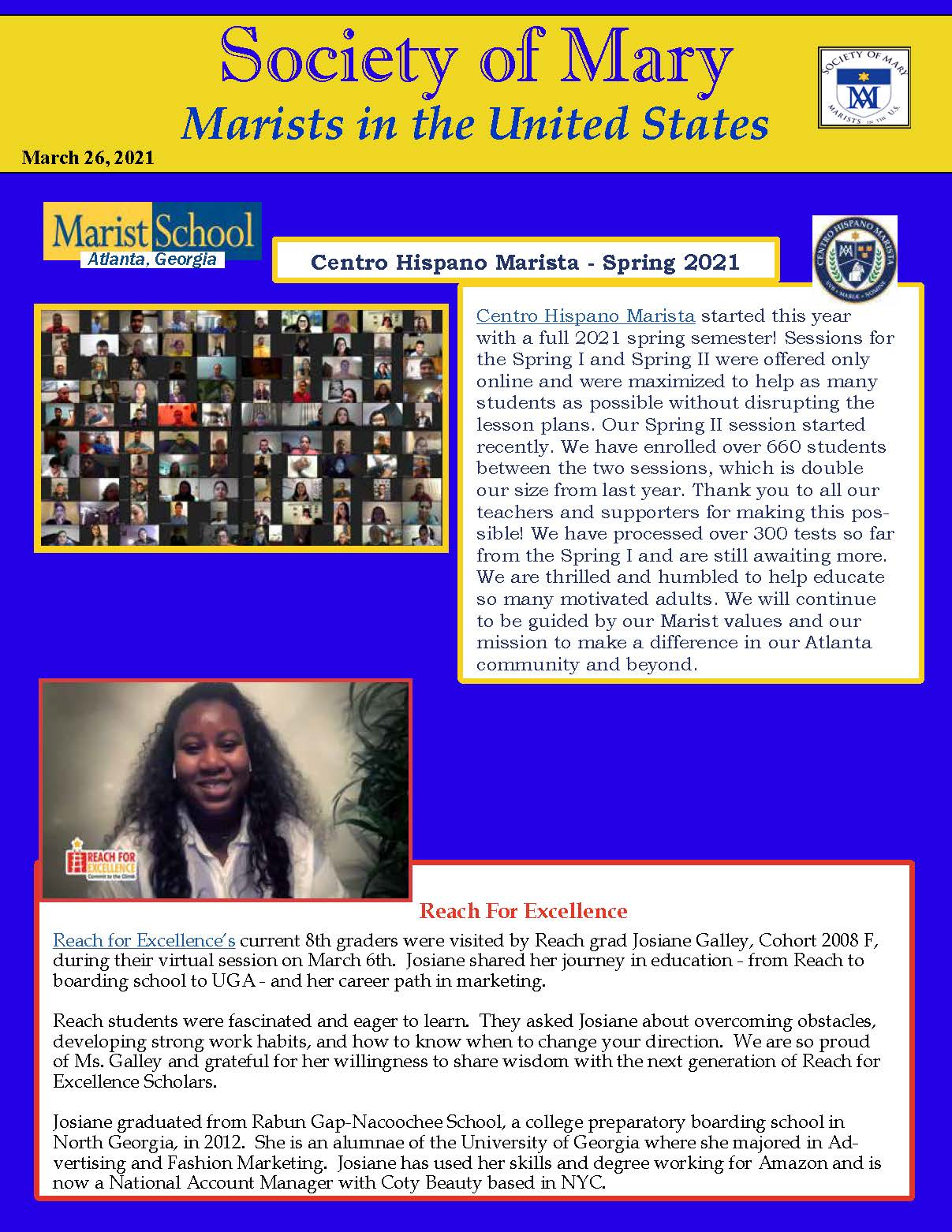 SM E Newsletter 03 26 2021 Page 1
