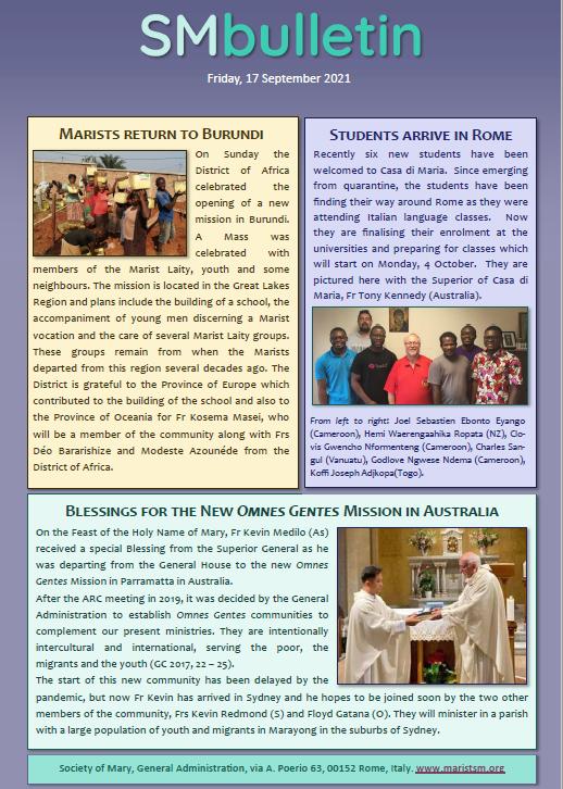 Bulletin 210917